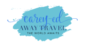 Carey-ed Away Travel Logo